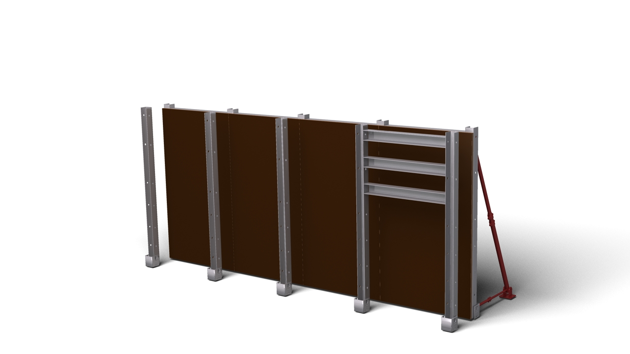 Wall Formwork 85c | Fast-Form Systems
