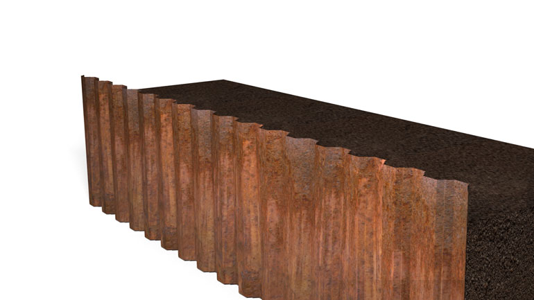 Sheet Pile Beam 01 | Fast-Form Systems