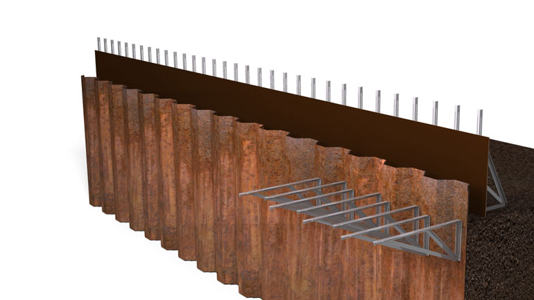 Sheet Pile Beam 07 | Fast-Form Systems
